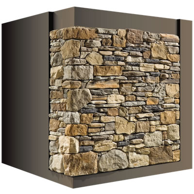 Case in legno rivestite in pietra biholz case in legno - Rivestire parete con legno ...