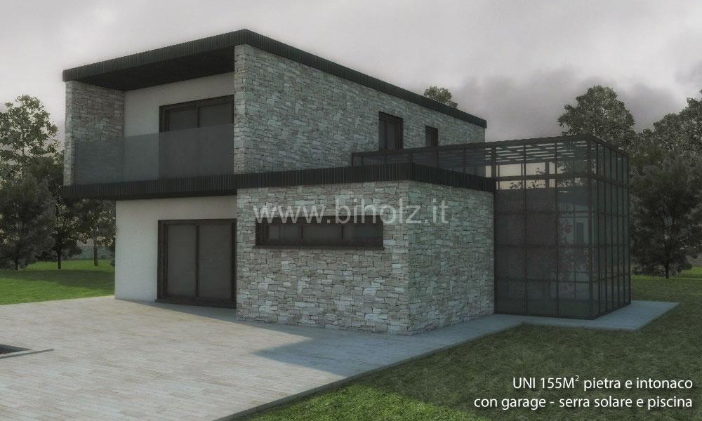 Case linea comfort biholz case in legno for Case pietra e legno