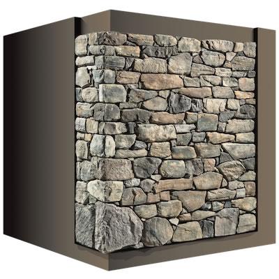Case in legno rivestite in pietra biholz case in legno for Case in pietra e tronchi
